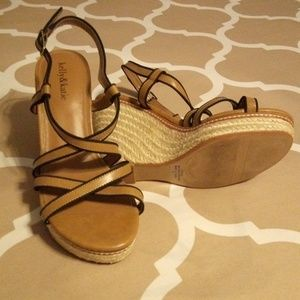 Kelly & Katie wedge sandals